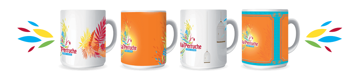 mugs collector perruche